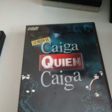 Cinema: G-VIK22 DVD LO MEJOR DE CAIGA QUIEN CAIGA 2 DVD. Lote 174016883