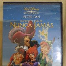 Cine: PETER PAN EN EL REGRESO AL PAIS DE NUNCA JAMAS. Lote 174017838