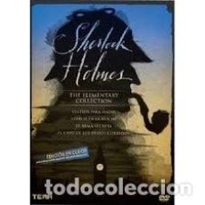 Cine: SHERLOCK HOLMES PACK NUEVA Y PRECINTADA DESCATALOGADA. Lote 174031544