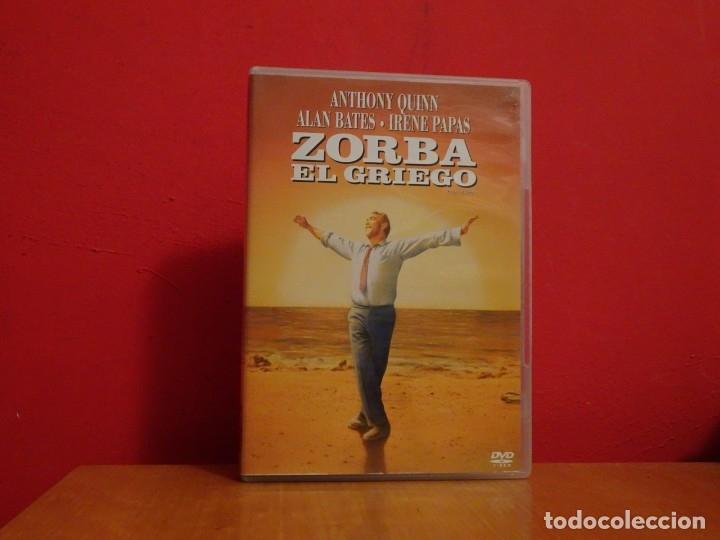 ZORBA EL GRIEGO DVD NUEVO ANTHONY QUINN ALAN BATES IRENE PAPAS (Cine - Películas - DVD)