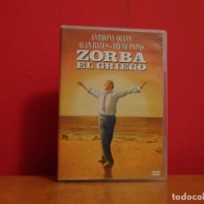 Cine: ZORBA EL GRIEGO DVD NUEVO ANTHONY QUINN ALAN BATES IRENE PAPAS . Lote 174046960
