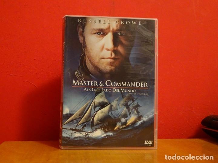 MASTER AND COMMANDER DVD RUSSELL CROWE (Cine - Películas - DVD)
