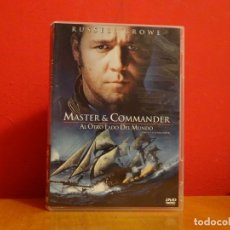 Cine: MASTER AND COMMANDER DVD RUSSELL CROWE . Lote 174046987