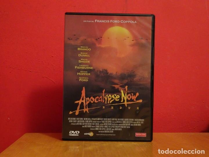APOCALYPSE NOW REDUX DVD APOCALIPSIS FRANCIS FORD COPOLLA MARTIN SHEEN MARLON BRANDO HARRISON FORD (Cine - Películas - DVD)