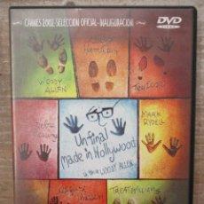 Cine: DVD - UN FINAL MADE IN HOLLYWOOD - WOODY ALLEN - PEDIDO MINIMO 4 PELICULAS O PEDIDO MINIMO DE 10€. Lote 174091504