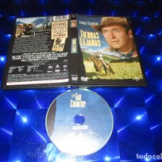 Cine: TIERRAS LEJANAS - DVD - 822542 1 - UNIVERSAL - JAMES STEWART. Lote 174094209