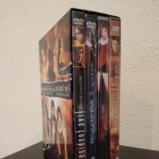Cine: RESIDENT EVIL -CAJA 4 DVD'S LA SAGA COMPLETA + DEGENERACIÓN- PRECINTADO, NUEVO. Lote 174138348