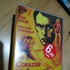 Cine: CON EL CORAZÓN EN LA GARGANTA (NUEVA Y PRECINTADA) GIALLO. Lote 174150123