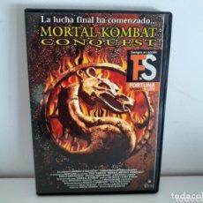 Cine: DVD MORTAL KOMBAT CONQUEST. Lote 174156768