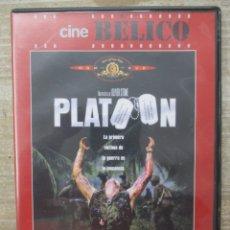 Cine: DVD - PLATOON - PEDIDO MINIMO 4 PELICULAS O PEDIDO MINIMO DE 10€. Lote 174246878
