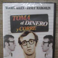 Cine: DVD - TOMA EL DINERO Y CORRE - WOODY ALLEN - PEDIDO MINIMO 4 PELICULAS O PEDIDO MINIMO DE 10€. Lote 174251557
