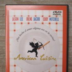 Cine: DVD - AMERICAN CUISINE - PEDIDO MINIMO 4 PELICULAS O PEDIDO MINIMO DE 10€. Lote 174252982