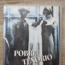 Cine: DVD - POBRE TENORIO - BUSTER KEATON - PEDIDO MINIMO 4 PELICULAS O PEDIDO MINIMO DE 10€. Lote 174254948