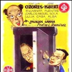 Cinéma: LOS LADRONES SOMOS GENTE HONRADA - JOSÉ LUIS OZORES, JOSÉ ISBERT, ENCARNA FUENTES DVD NUEVO. Lote 193919962