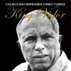Cine: PACK DVD KING VIDOR (LA LUZ BRILLO DOS VECES+PASO AL NOROESTE+ CAMARADA X + EL MANANTIAL)+ BSO. Lote 186393095