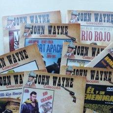 Cine: LOTE DE 12 FILMS DE JOHN WAYNE **COLECCION JOHN WAYNE ** EN 11 DVDS * COMO NUEVOS. Lote 174309708