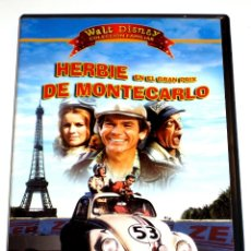 Cine: HERBIE EN EL GRAN PRIX DE MONTECARLO - WALT DISNEY - DEAN JONES DON KNOTTS DVD DESCATALOGADA. Lote 174343227