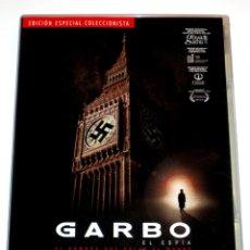 Cine: GARBO EL ESPIA (E.C. 2 DISCOS + LIBRETO) - EDMON ROCH RUPERT ALLASON ALINE GRIFFITH DVD DESCATALOG.. Lote 174343352