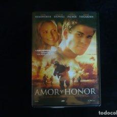 Cine: AMOR Y HONOR - DVD CASI COMO NUEVO. Lote 174343582