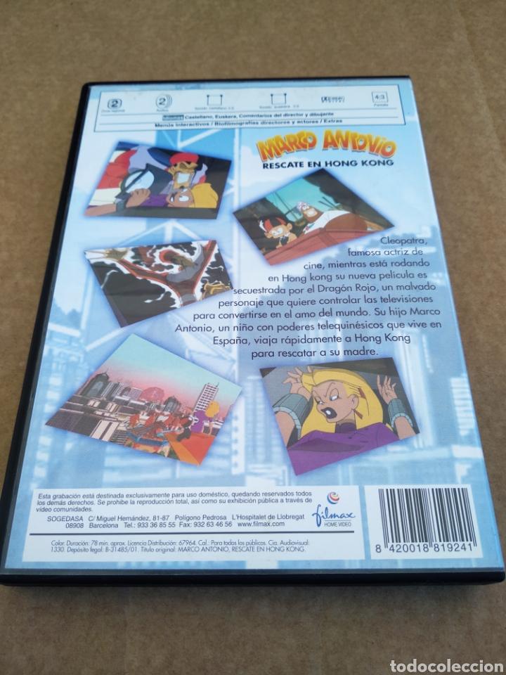 Cine: DVD Marco Antonio: Rescate en Hong Kong (Merlín Animación, 2001). Miquel Beltrán. 78 minutos. - Foto 2 - 174369082