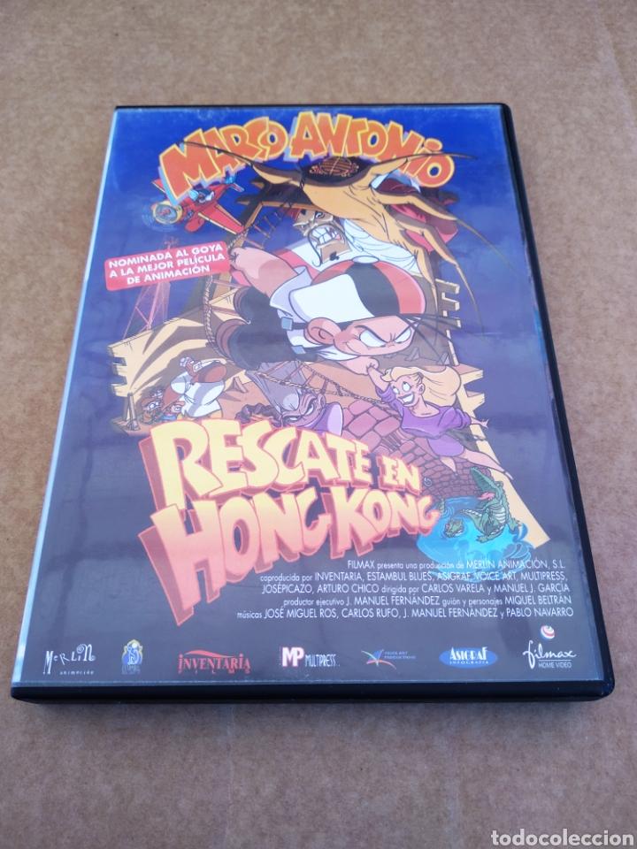 DVD MARCO ANTONIO: RESCATE EN HONG KONG (MERLÍN ANIMACIÓN, 2001). MIQUEL BELTRÁN. 78 MINUTOS. (Cine - Películas - DVD)