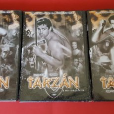 Cine: 3 DVD'S: TARZÁN (PAYCOM MULTIMEDIA) ¡ORIGINALES! ¡COLECCIONISTA!. Lote 174378560