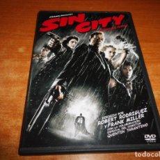 Cine: SIN CITY DVD 2005 ESPAÑA BRUCE WILLIS ELIJAH WOOD ROBERT RODRIGUEZ FRANK MILLER QUENTIN TARANTINO. Lote 246451470