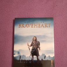 Cine: BRAVEHEART EDITION COLLECTOR 2 DVD MEL GIBSON, PRECINTADO. Lote 72237699