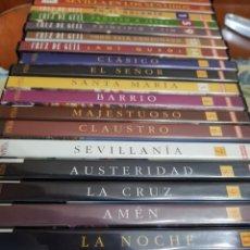 Cine: COLECCIÓN DVD DE SEMANA SANTA. Lote 174473425