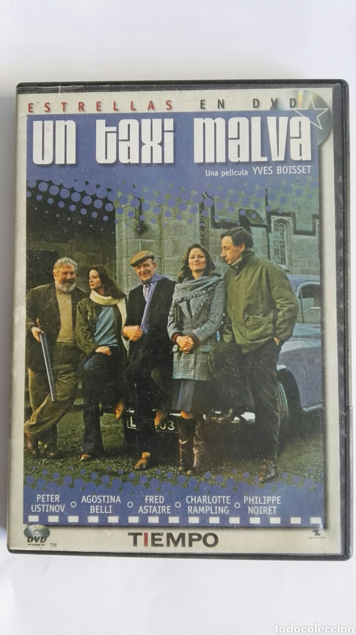 UN TAXI MALVA DVD (Cine - Películas - DVD)