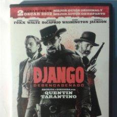 Cine: DJANGO DESENCADENADO QUENTIN TARANTINO DVD. Lote 174492140