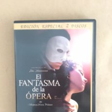 Cine: DVD EL FANTASMA DE LA OPERA. Lote 174492829