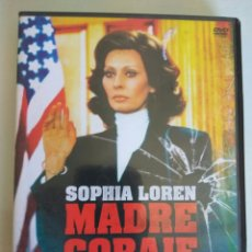 Cine: PELICULA DVD MADRE CORAJE SOPHIA LOREN. Lote 174534738
