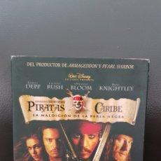 Cine: PIRATAS DEL CARIBE LA MALDICIÓN DE LA PERLA NEGRA EDICION ESPECIAL DE COLECCIONISTA 2 DVD. Lote 174566965