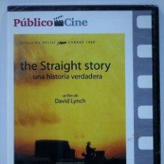 Cine: THE STRAIGHT STORY / UNA HISTORIA VERDADERA / PRECINTADO. Lote 174621114