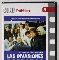 Cine: LAS INVASIONES BARBARAS / PRECINTADO. Lote 174977838