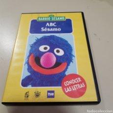 Cine: ( S192) BARRIO SESAMO CONOCER LAS LETRAS - DVD SEGUNDAMANO. Lote 175111714
