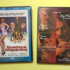 Cine: LOTE 2 DVD: LA MOSCA HISPÁNICA - LA COMPASIÓN DEL DIABLO (CINE ESPAÑOL) ¡ORIGINALES!. Lote 175121717