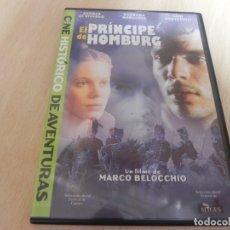 Cine: DVD EL PRINCIPE DE HOMBURG - COLECCIÓN CINE HISTÓRICO DE AVENTURAS -. Lote 175145967