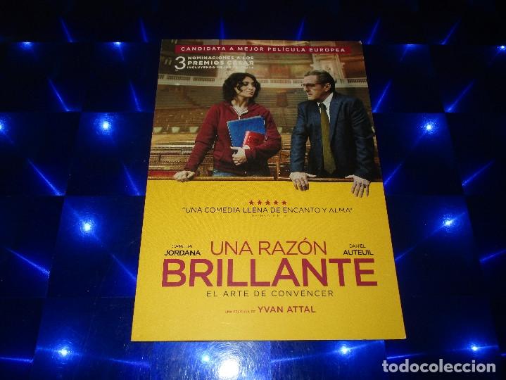 Cine: UNA RAZON BRILLANTE - PROMOCIONAL - CANDIDATA A MEJOR PELICULA EUROPEA - EL ARTE DE CONVENCER - Foto 2 - 175199333