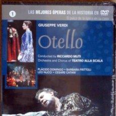 Cine: TODODVD: PRECINTADO. OTELLO, GIUSEPPE VERDI (PLÁCIDO DOMINGO, BÁRBARA FRITTOLI, LEO NUCCI). Lote 175224574