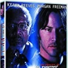 Cinéma: REACCION EN CADENA (KEANU REEVES, MORGAN FREEMAN) - DVD NUEVO Y PRECINTADO. Lote 237072150