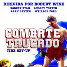 Cine: COMBATE TRUCADO (NUEVA). Lote 194651058