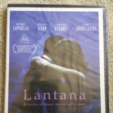 Cinema: LANTANA DVD CON GEOFFREY RUSH **NUEVA Y PRECINTADA**. Lote 175473730