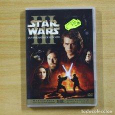 Cine: STAR WARS 3 LA VENGANZA DE LOS SITH - DVD. Lote 214075805