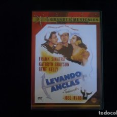 Cine: LEVANDO ANCLAS - DVD COMO NUEVO. Lote 175510959