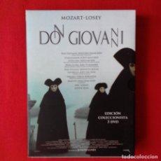 Cine: DON GIOVANNI. JOSEPH LOSEY. 3 DVD EDICIÓN COLECCIONISTA. OPERA MOZART. Lote 175515518