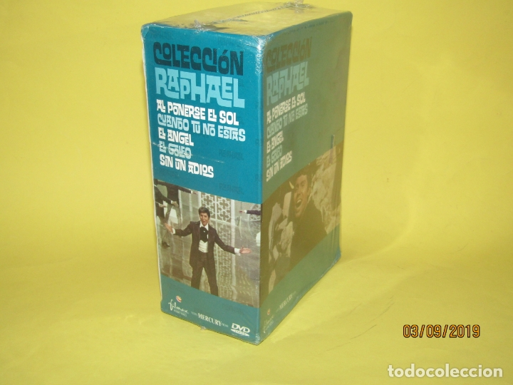 Cine: COLECCIÓN RAPHAEL 5 DVD - EL GOLFO - EL ANGEL - SIN UN ADIOS - AL PONERSE EL SOL - Foto 2 - 175572628