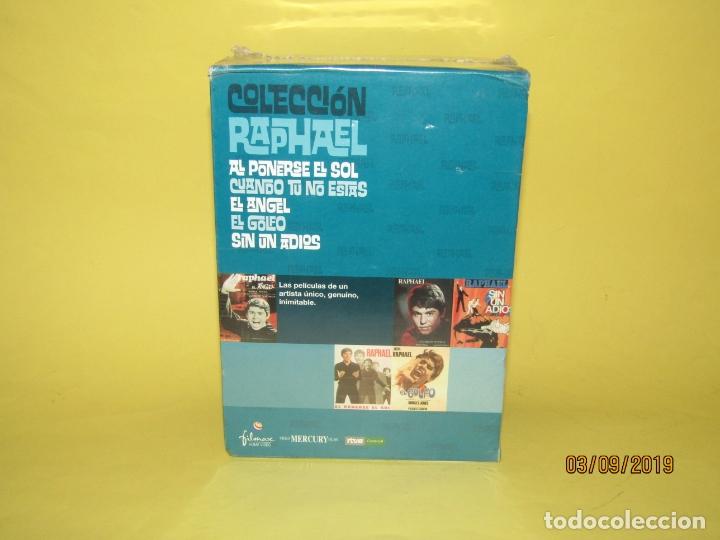 Cine: COLECCIÓN RAPHAEL 5 DVD - EL GOLFO - EL ANGEL - SIN UN ADIOS - AL PONERSE EL SOL - Foto 3 - 175572628