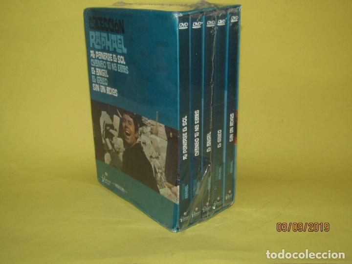 Cine: COLECCIÓN RAPHAEL 5 DVD - EL GOLFO - EL ANGEL - SIN UN ADIOS - AL PONERSE EL SOL - Foto 4 - 175572628